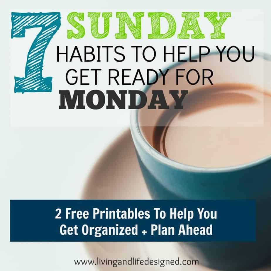 Sunday Habits that Help Make Monday Smoother