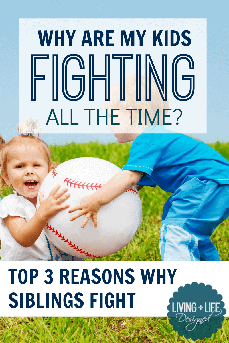 Sibling Fighting: 3 Reasons for the Bickering & How Use a Positive Approach to Fix It