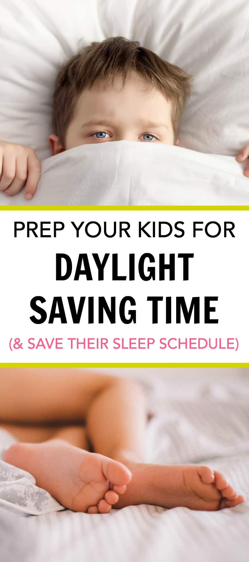 Prep Your Kids for Daylight Saving Time